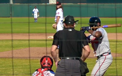 Bullets Alum, Matt Blackham, pitching for the New York Mets